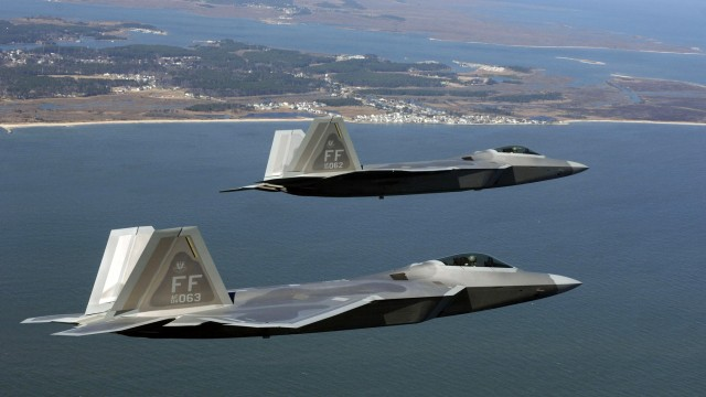 fast Airplanes f22 wide