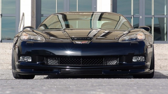 Chevrolet BlackEdition Corvette Z06 front