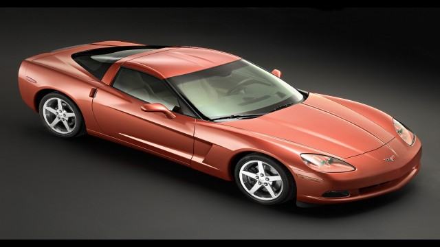 Chevrolet Corvette C6 red