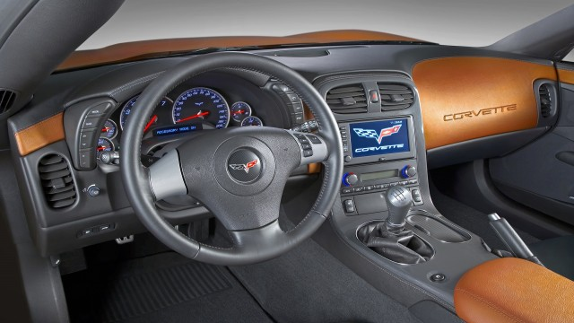 Chevrolet Corvette 2008 interior