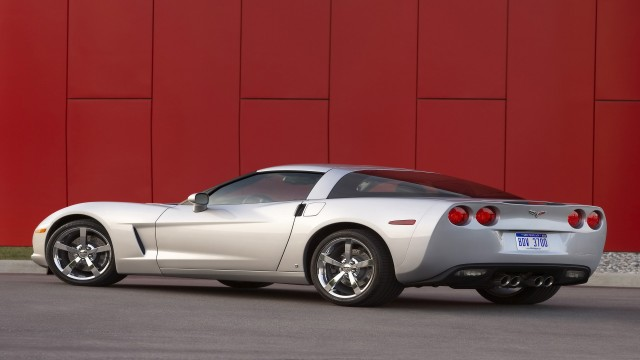 Chevrolet Corvette 2009 Coupe rear angle