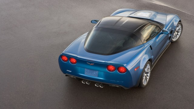 Chevrolet Corvette ZR1 2009 top rear