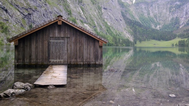 Lake Obersee - Germany backgrounds