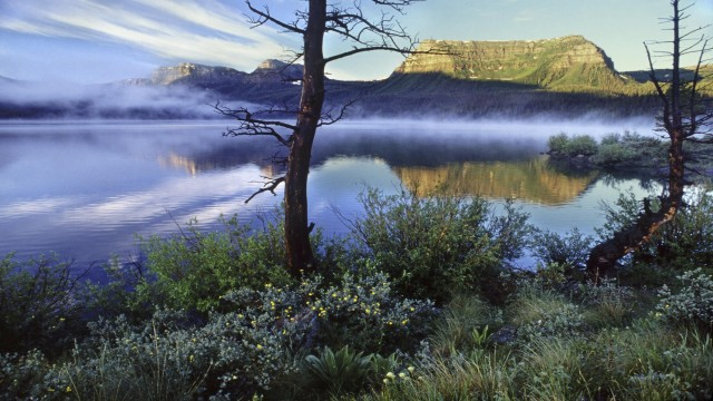 Trapper's Lake at Sunrise, White River National Forest, Colorado