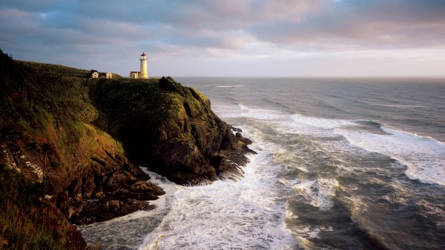 North Head Lighthouse, Cape Disappointment State Park, Washington