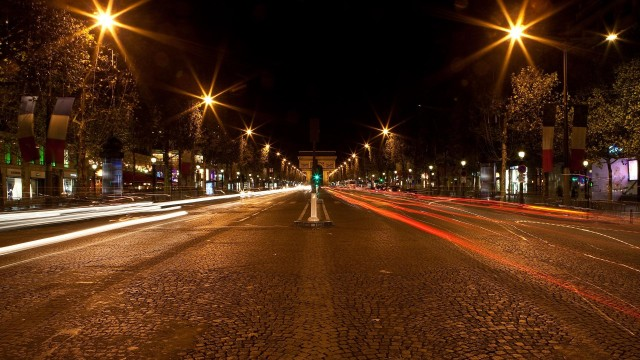 countries, cities, paris, france, night-life
