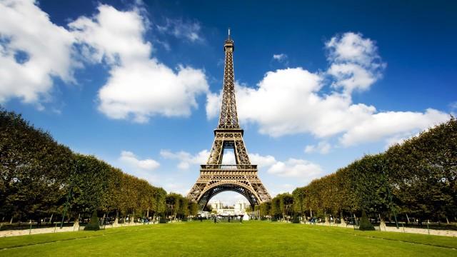Eiffel Tower Paris France Park Cities