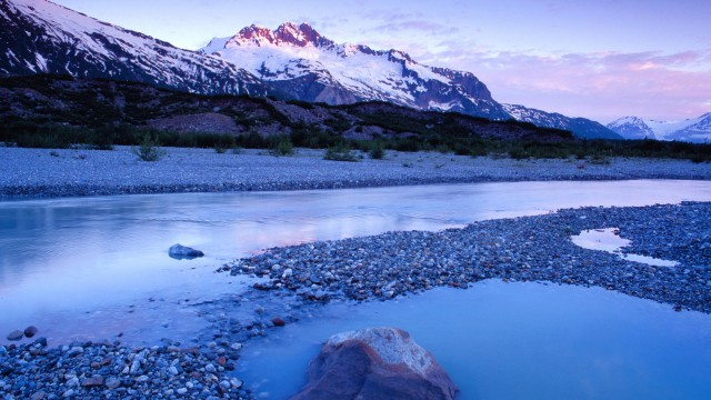 Glacial Pool, Alsek River, Bristish Columbia, Canada