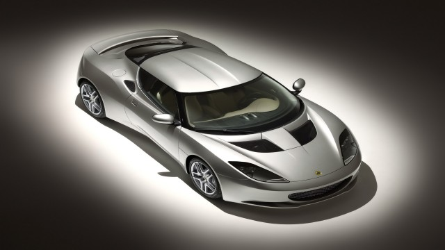 Lotus Evora front angle top