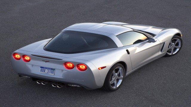 Chevrolet Corvette 2009 Coupe rear top