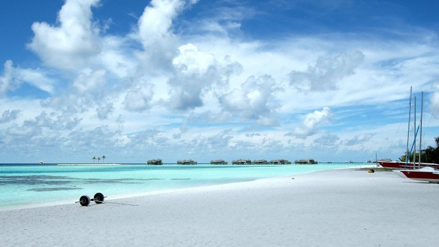 nature, maldives, beach, water, sky, clouds, sands